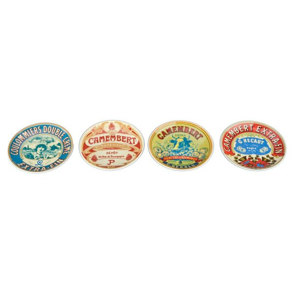 5.75 Fromage Plate (Set of 8) by BIA Cordon Bleu