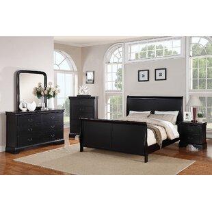 Bois Sleigh Configurable Bedroom Set