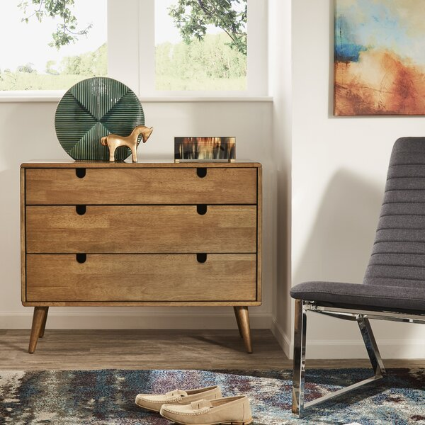 Camryn 3 Drawer Dresser by Kingstown Home
