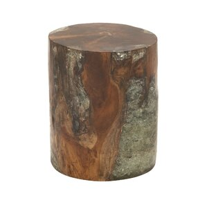 Wood Teak and Resin Garden Stool  sc 1 st  AllModern : resin garden stool - islam-shia.org