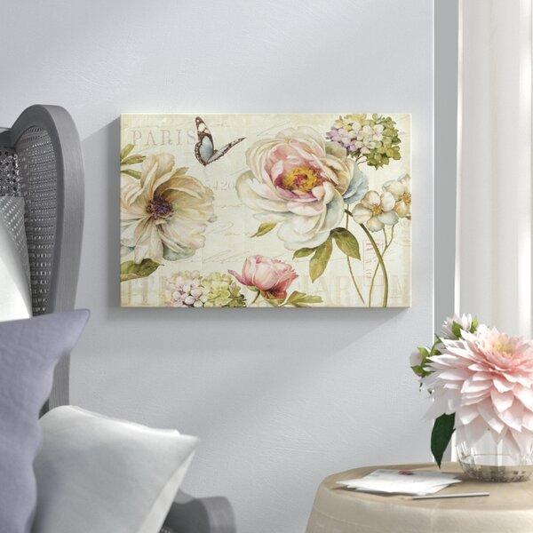Marche De Fleurs Iv Graphic Art On Wrapped Canvas By Lark Manor.