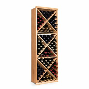 N'finity 132 Bottle Floor Wine Rack by Wine Enthusiast