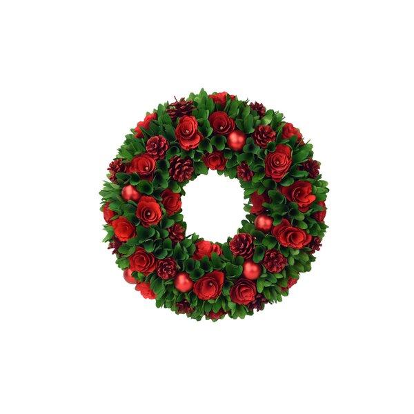 18.25 Woodchip Wreath by House of Hampton