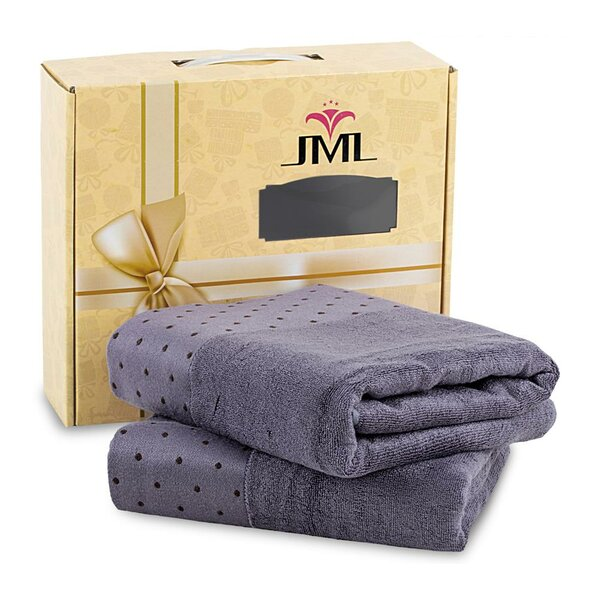 Liam Rayon from Bamboo Bath Towel (Set of 2) by Wrought Studio