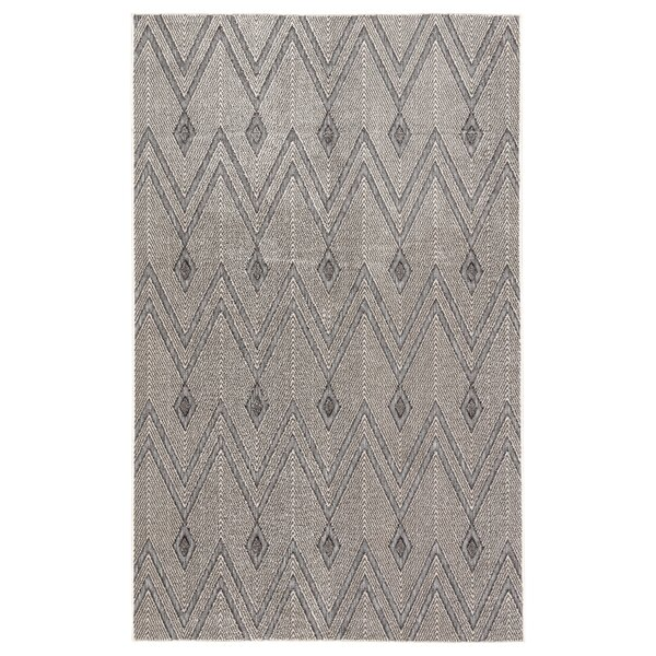 Whitfield Chevron Gray Indoor/Outdoor Area Rug by Union Rustic