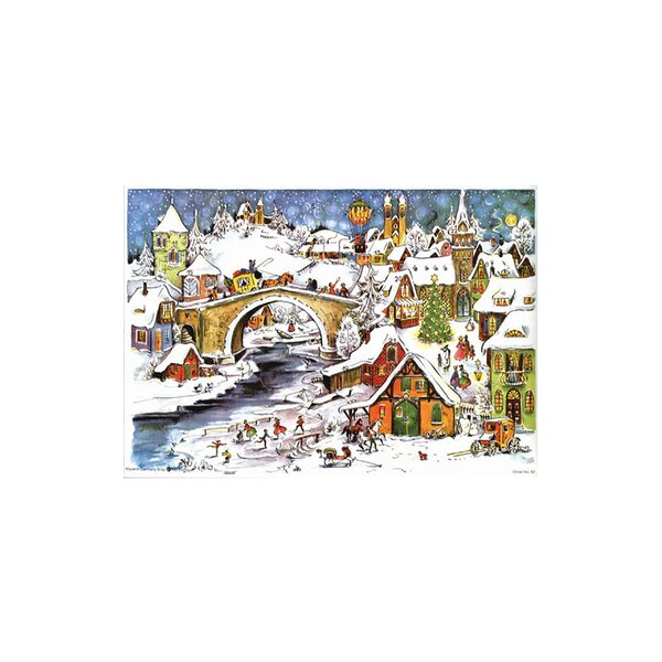 Sellmer Outdoor Winter Sports Advent Calendar by The Holiday Aisle