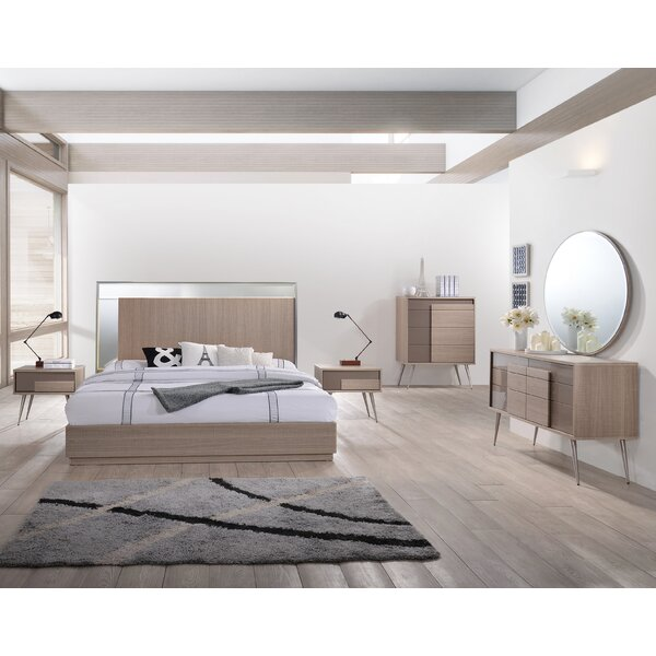Brazil Platform 5 Piece Bedroom Set by BestMasterFurniture