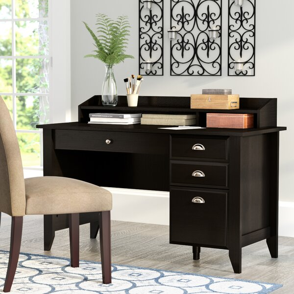Revere Desk with Hutch by Andover Mills