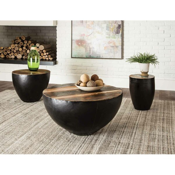 Camila 3 Piece Coffee Table Set by Foundry Select