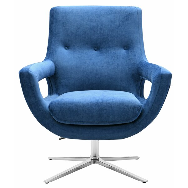 Earleville Swivel Armchair by George Oliver
