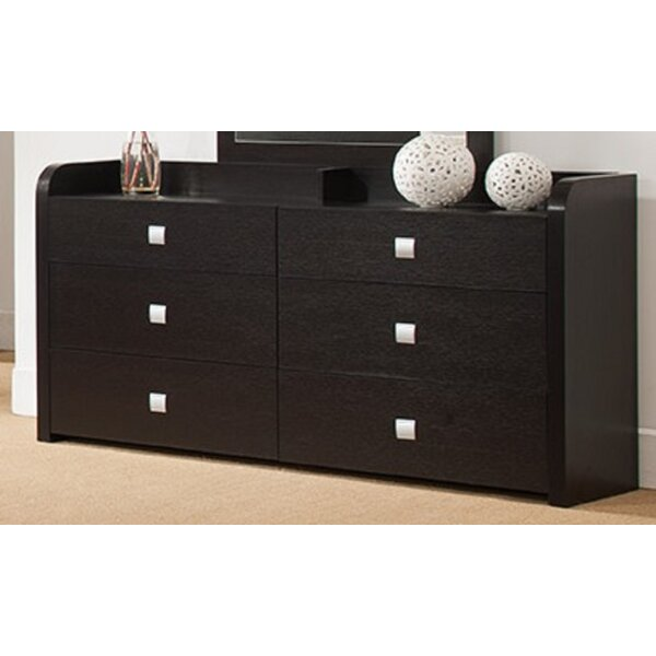 Adeel 6 Drawer Double Dresser by Latitude Run