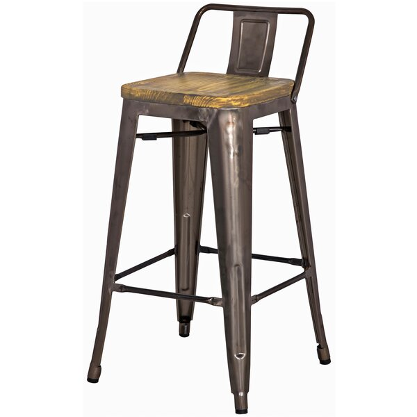 Shumake 26 Bar Stool (Set of 4) by Trent Austin De