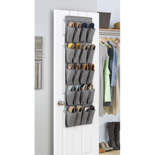 Whitmor, Inc Whitmor 20 Pocket 10 Pair Overdoor Shoe Organizer U0026 Reviews |  Wayfair