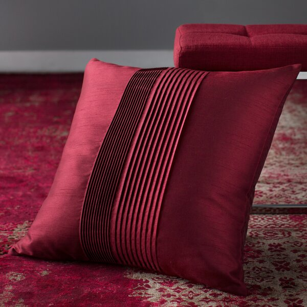Kadyn Pleated Throw Pillow by Willa Arlo Interiors
