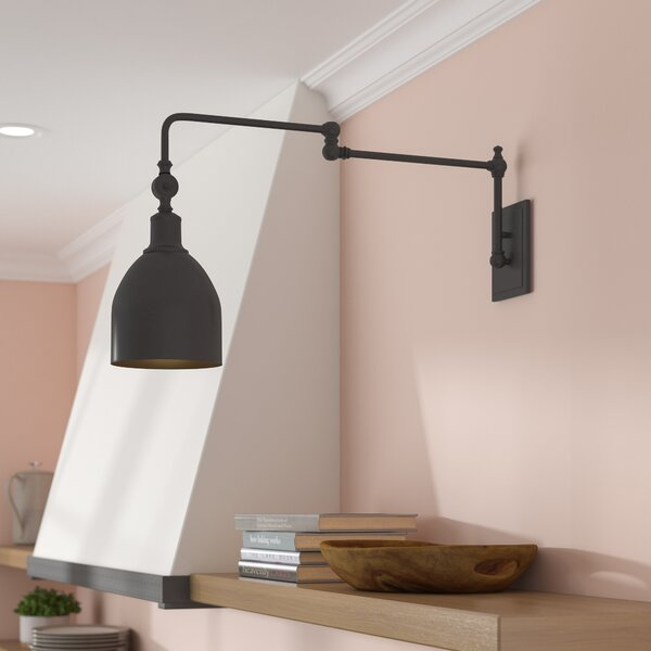 Lyana Swing Arm Lamp by Gracie Oaks