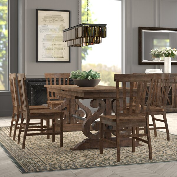 7 Piece Counter Height Dining Set by Greyleigh