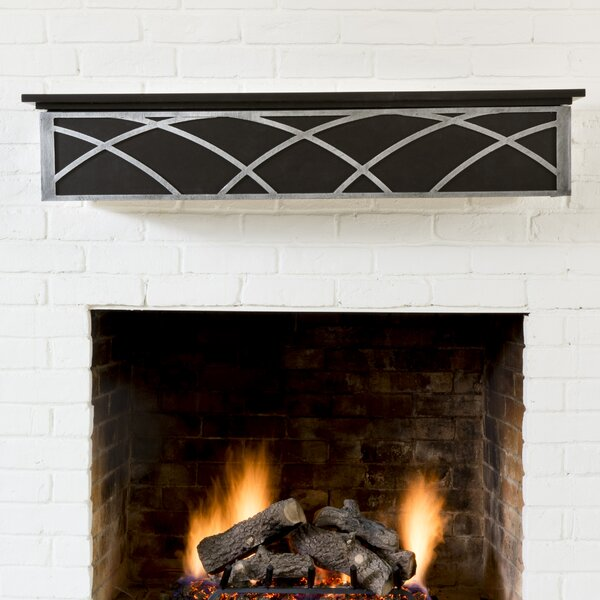 Hansel Fireplace Shelf Mantel by Ornamental Designs