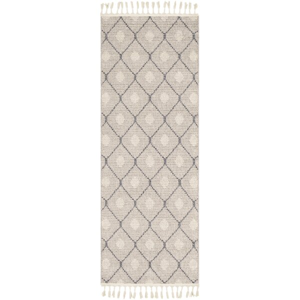 Clearwell Bohemian Taupe/Light Gray Area Rug by Gracie Oaks