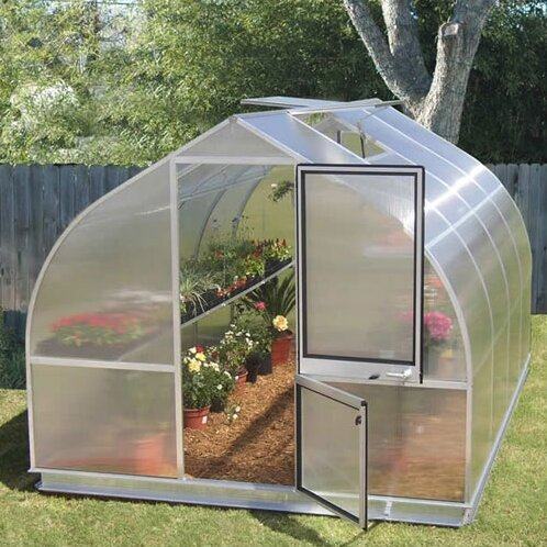 Riga IV 9.67 Ft. W x 14 Ft. D Greenhouse by Hoklartherm