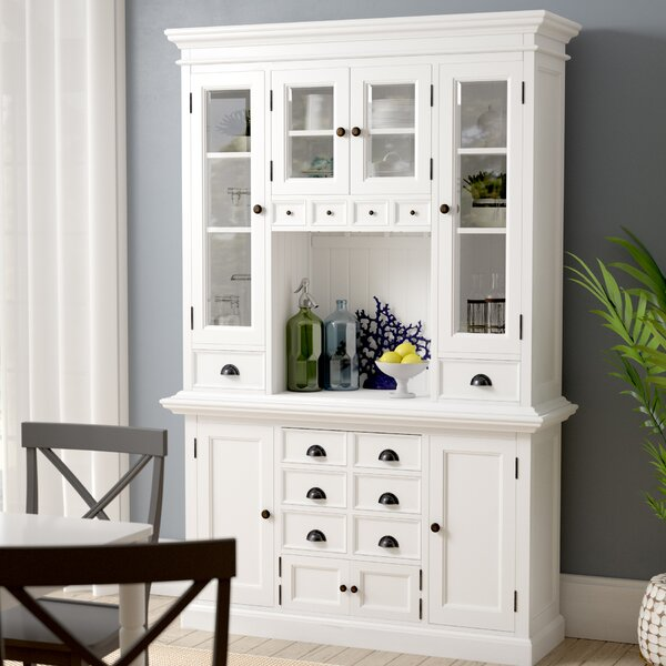 Amityville Kitchen China Cabinet by Beachcrest Home