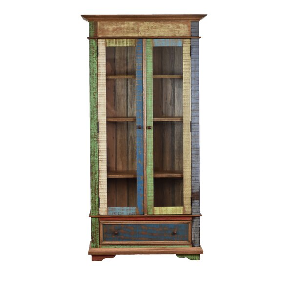 Reppert Display Curio Cabinet by Bloomsbury Market