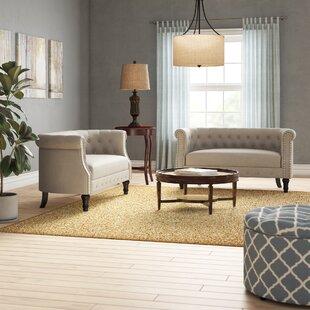 Celestia 3 Piece Living Room Set by Alcott Hill®