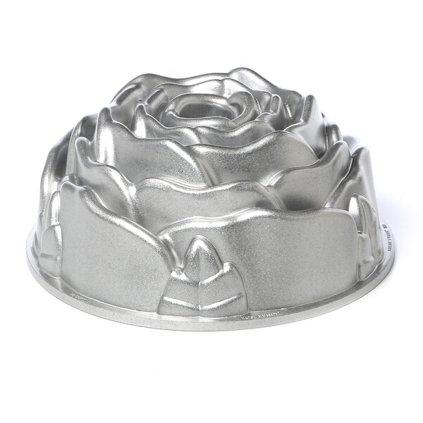 Platinum Rose Bundt Pan by Nordic Ware