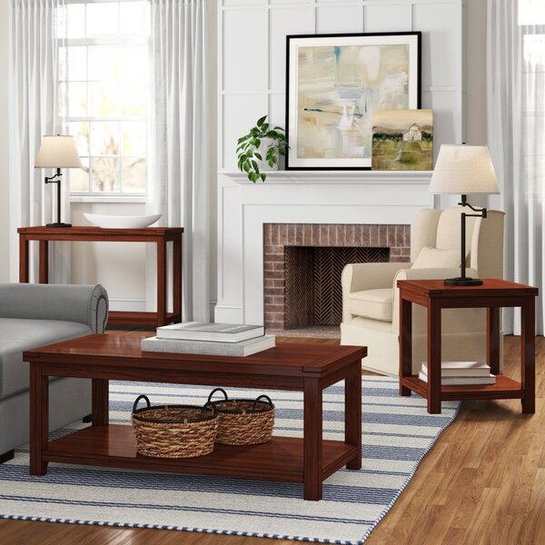 Kensley 3 Piece Coffee Table Set by Three Posts Three Posts