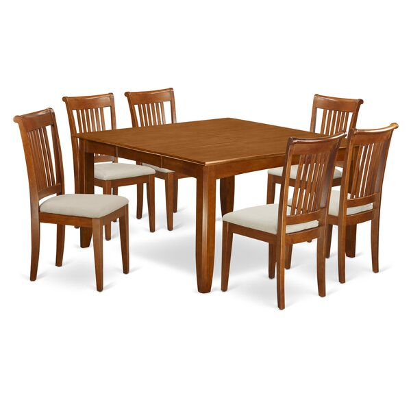 Teressa 7 Piece Dining Set By Alcott Hill