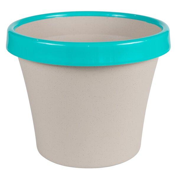 TwoTone Plastic Pot Planter by Bloem