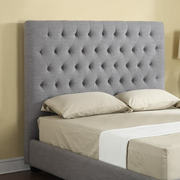 Plath Upholstered Panel Headboard by Darby Home Co
