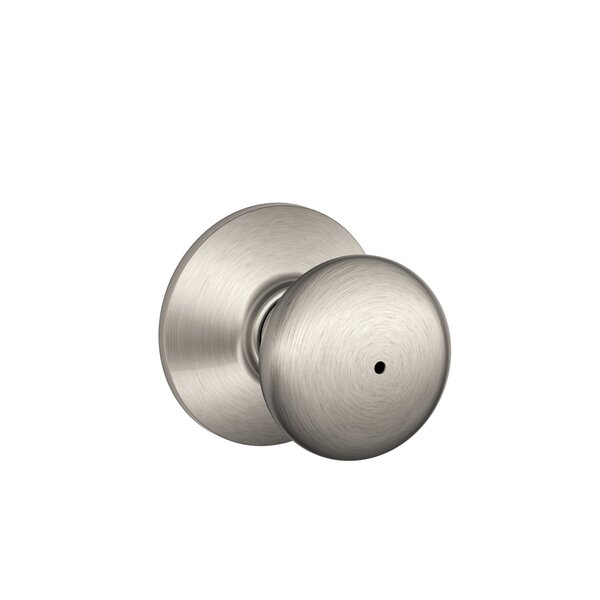 Plymouth Knob Bed and Bath Lock by Schlage