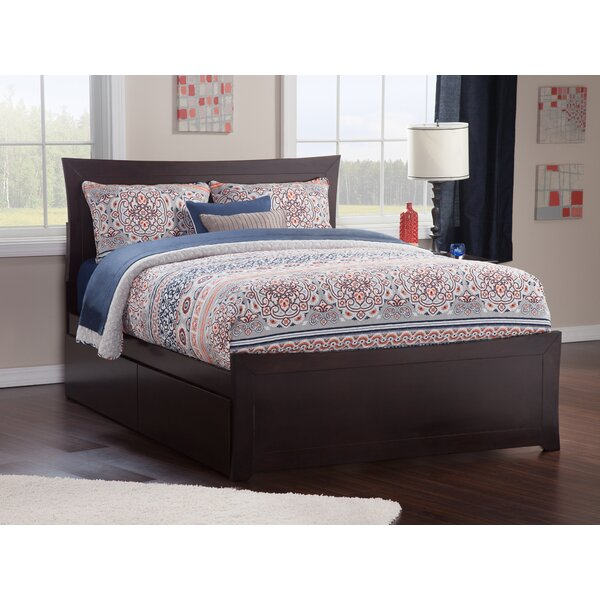 Ahmed Platform Bed with Drawers by Viv + Rae