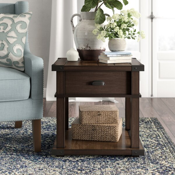 Bridget End Table with Storage by Birch Lane™ Heritage
