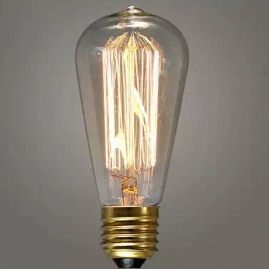 40W E26 Incandescent Light Bulb by Mr. MJs