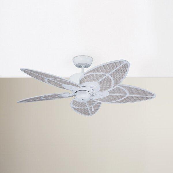 52 Aaliyah 5-Blade Ceiling Fan by Beachcrest Home