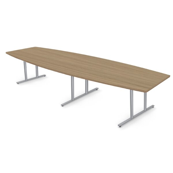 Boat Shape Conference Table by Baltix