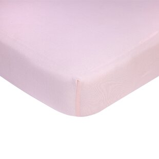 Reviews Solid Crib Fitted Sheet ByCarter's®
