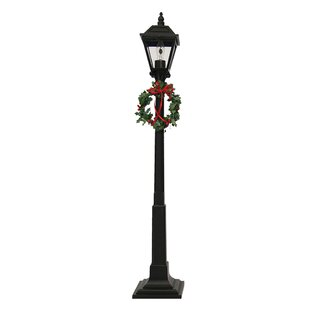 Savings Decorated 22 Post Light By Byers' Choice