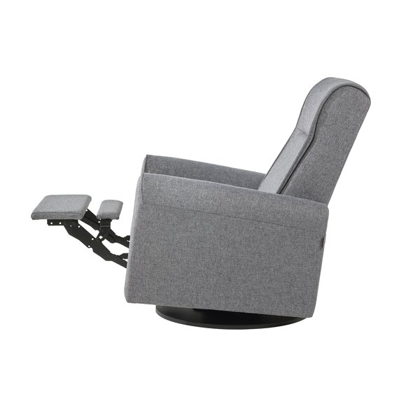 Nolita Upholstered Swivel Reclining Glider by Dutailier