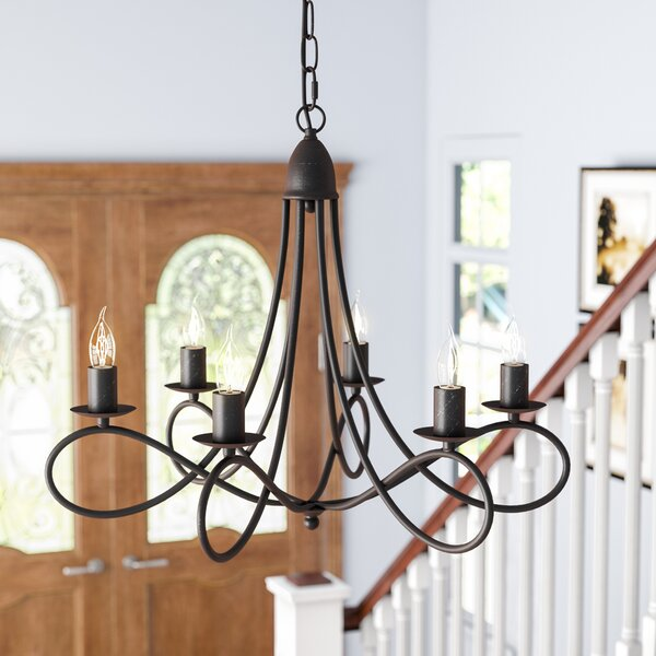 Macarthur 6 - Light Candle Style Classic / Traditional Chandelier by Andover Mills Andover Mills