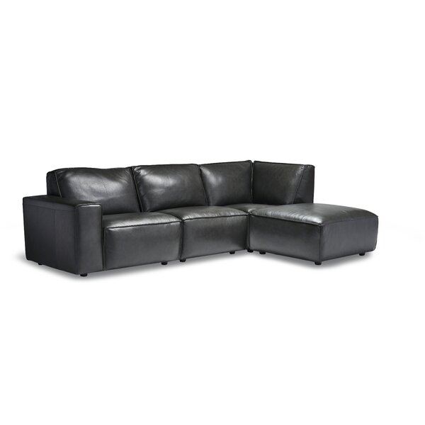 Chiraca Right Hand Facing Modular Sectional By Ebern Designs