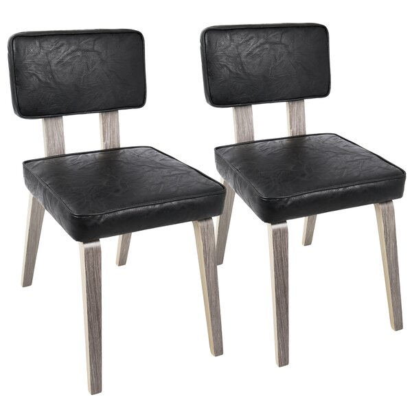 Mccullar Mid-Century Modern Upholstered Dining Chair (Set of 2) by Brayden Studio