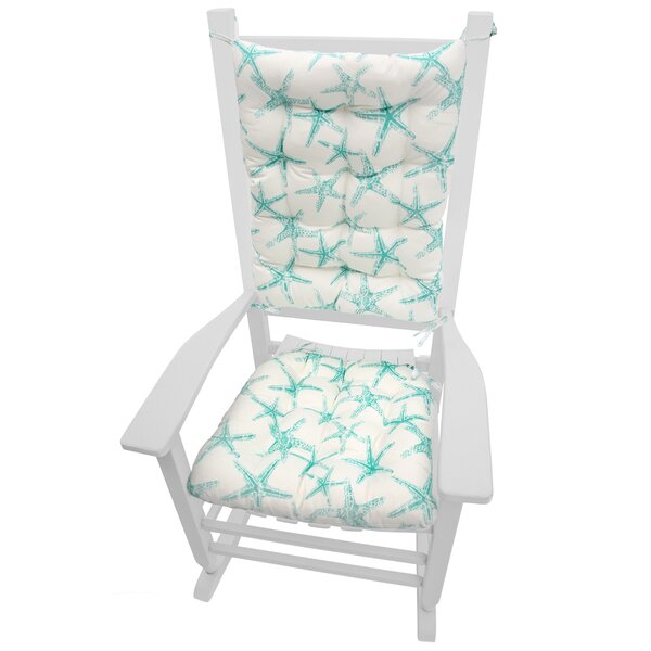 Indoor/Outdoor Rocking Chair Cushion By Highland Dunes