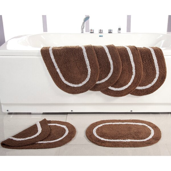 Landisburg Reversible Bath Rug (Set of 6) by Alcott Hill