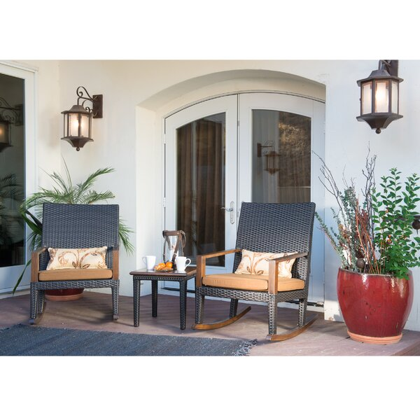 Love 3 Piece with Sunbrella Cushions by Bayou Breeze