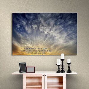 God by Antonio Raggio Graphic Graphic Art on Wrapped Canvas by Alcott Hill