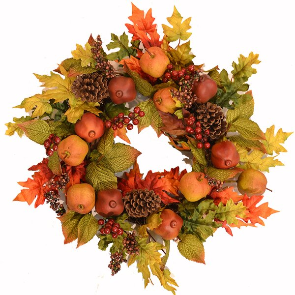 Fall Fruit 22 Wreath by August Grove
