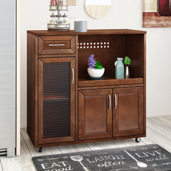 Dantzler Kitchen Cart by Red Barrel Studio