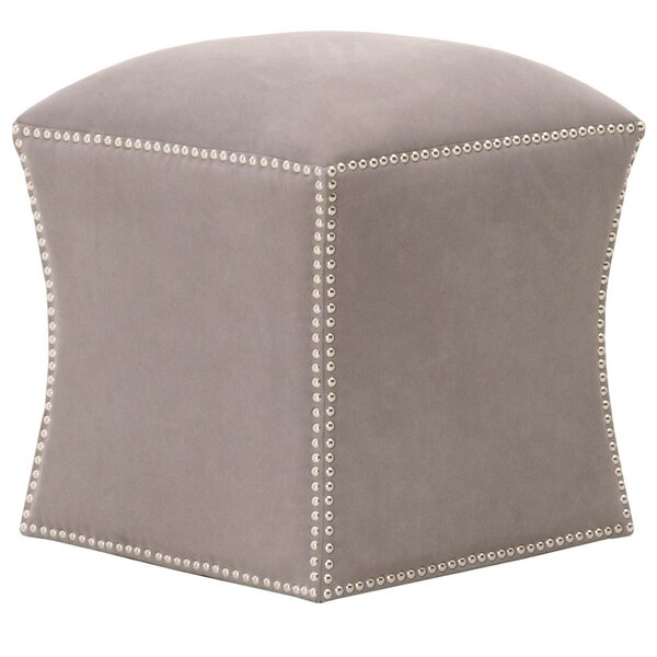 Jaiden Simply Awesome Fully Upholstered Ottoman by Rosdorf Park